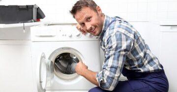 натяжные потолки стиральная машина